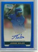 2012 Bowman Chrome Soler Auto