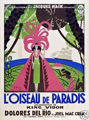 Bird of paradise King Vidor vintage movie (Bird Of Paradise King)