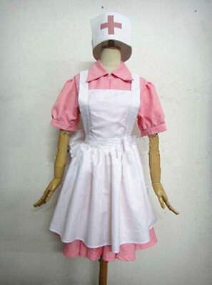 Cosplay Pokemon Joy Nurse Uniform Cos Outfit Costume Dress  { COS}