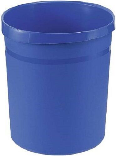 Büro Papierkorb Abfallkorb Mülleimer 18 Liter blau