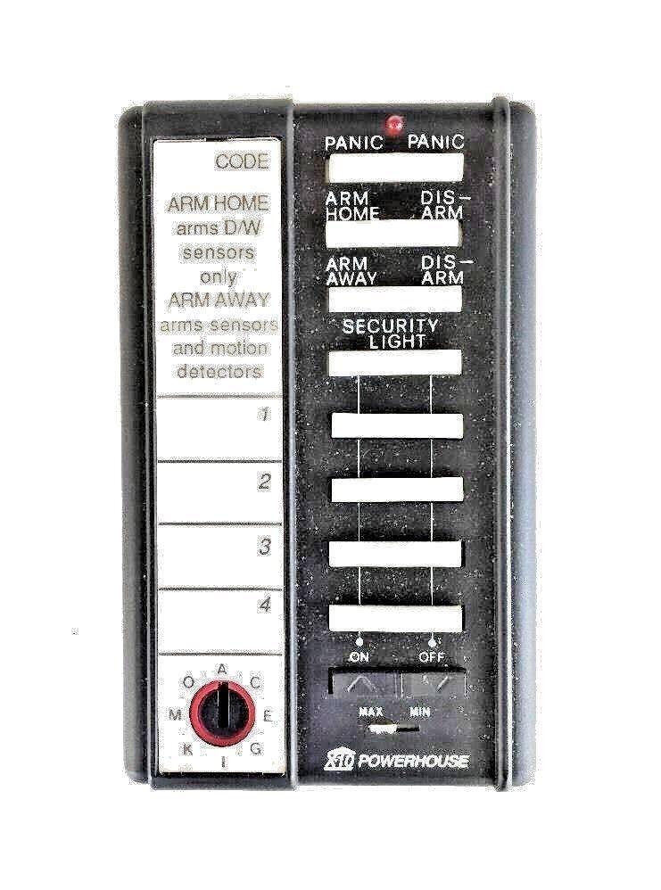 X10 Wireless Security Handheld Remote SH624/PSR01~ Good Condition ~ Warrantied