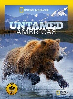 NATIONAL GEOGRAPHIC UNTAMED AMERICAS New Sealed DVD Complete 4 Part (America Part)