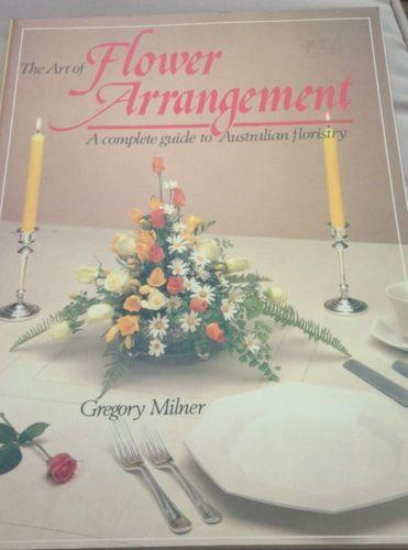Flower arrangement books ebay
