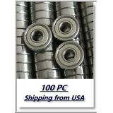 Lot 100 in-line/Skate/RollerBlade Hockey Bearings 608ZZ ABEC-7
