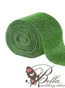 Green Mesh Ribbon
