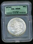 1879 Morgan Silver Dollar MS 65