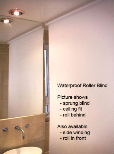 Waterproof Blind | eBay on waterproof window blinds, light blue bathroom, bathroom blinds for bathroom, vinyl window shade for bathroom, waterproof blinds uk, waterproof mini blinds, best blinds for bathroom, plantation shutters in bathroom, soft blinds for bathroom, roller blinds for master bathroom, wooden blinds for bathroom, window blinds for small bathroom, vertical blinds for bathroom, waterproof shutters window in shower, waterproof bathroom window, wood panels for bathroom, grey blinds for bathroom, roman blinds for bathroom, waterproof window shades for showers,