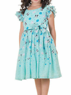 Disney Character Clothes (Disney Character Tsum Tsum Girls Chiffon Dress mint color Minnie)