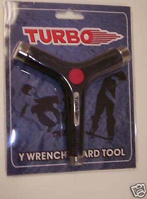 turbo Y wrench  SKATEBOARD TOOL BLACK  BRAND NEW