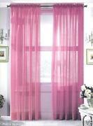 Rose Sheer Curtain