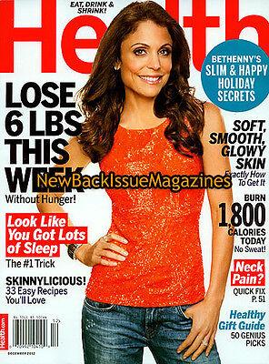 Health 12 12 Bethenny Frankel December 2012 New