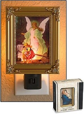 Guardian Angel with Children Night Light
