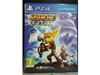 PS4 Ratchet & Clank in mint condition like new
