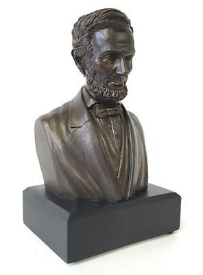 President Abraham Lincoln Bust Statue Sculpture   Gift Boxed