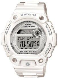Casio BLX-100-7ER Women's Baby-G Digital Watch Resin Strap NEW WARRANTY GENUINE