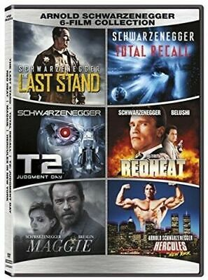 Arnold Schwarzenegger 6-Film DVD Collection Total Recall T2 RedHeat Hercules NEW (Movie Hercules 2017)