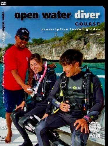 PADI open water diver course prescriptive lesson guides 70852 scuba dive equip