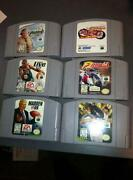 Nintendo 64 Game Lot