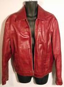 Mens Vintage Leather Jacket