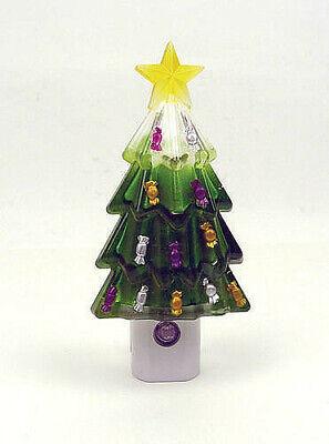 Christmas Tree LED Night Light Bright White Auto On/Off NEW Night Light FASTSHIP ()