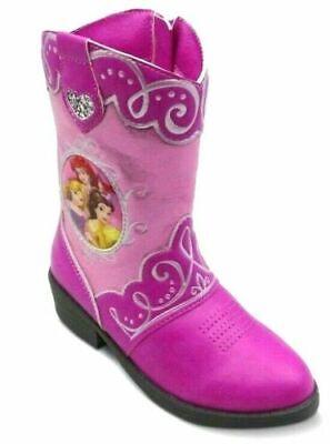 Toddler SIZE 8 Disney Princess Toddler Girls Western Cowboy Boots-FREE Shipping (Shoes Disney)