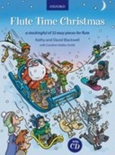 Flute Time Christmas (with CD); Blackwell, K & D, FMW - 9780193379275