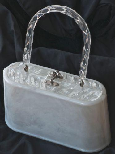 Vintage Plastic Purse Ebay