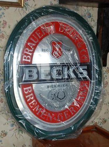 Becks Mirror Ebay
