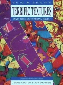 Terrific Textures (Sew & Serge Series)