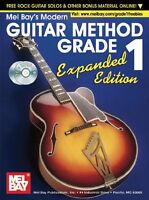 Brand New! Guitar Method Gr. 1 Expanded Ed (Book + CD + DVD)