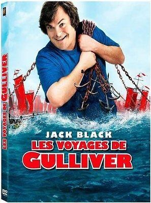 JACK BLACK - LES VOYAGES DE GULLIVER -   DVD NEUF CELLO
