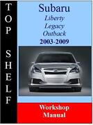 Subaru Liberty Manual