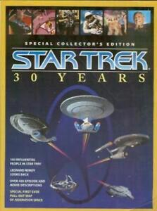 Star Trek 30 Years Special Collectors Edition with Pull-out Map