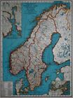 Oslo Antique Europe Atlas Maps