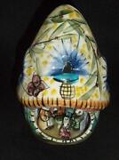 Pottery Lamp Base