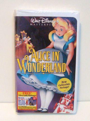 Alice in Wonderland VHS | eBay