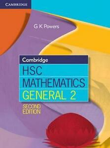 NEW Cambridge HSC Mathematics General 2 By Greg Powers Paperback Free Shipping