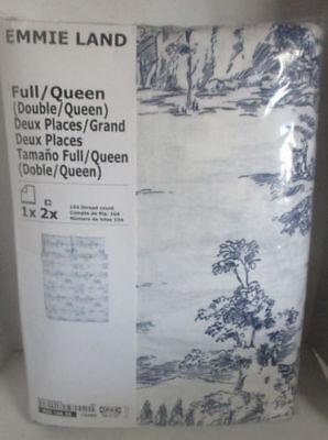 NEW IKEA EMMIE LAND Comforter Quilt Cover w/ 2 Pillowcases New IKEA Bedlinen set