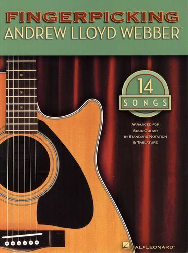 Fingerpicking Andrew Lloyd Webber Learn to Play Musicals Guitar Music Book
