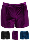 Velvet Shorts for Women
