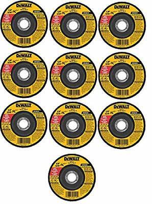 Dewalt Dw4514b5 4-12 X 14 X 78 Metal Grinding Wheel - 10 Pack