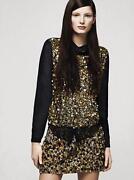 H&M Sequin Skirt