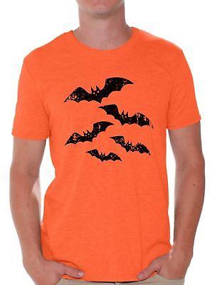 Men's Halloween Bat T shirts Shirts Tops  Halloween Bats - Man Bat Halloween