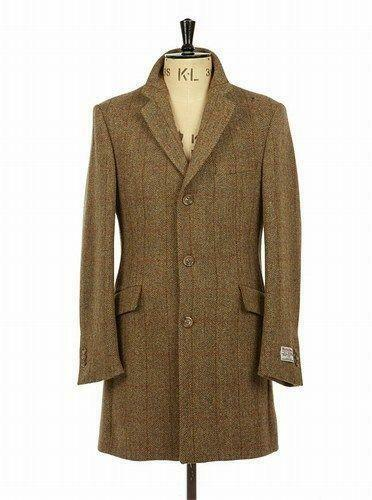 Harris Tweed Coat | eBay