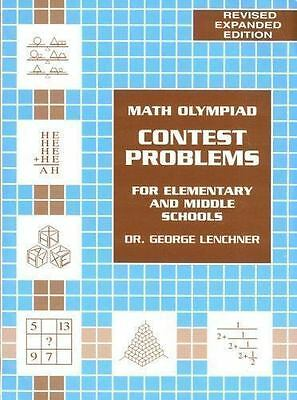 Math Olympiad Contest Problem For Elementary   Middle School Volume 1 New