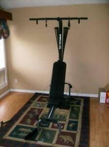 BowFleX XTL with Rowing gym weights exercise