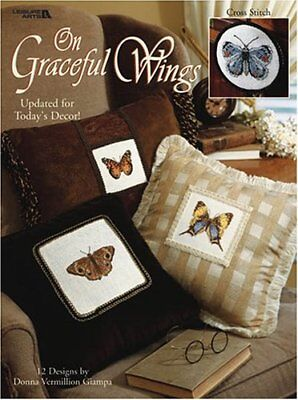 Leisure Arts On Graceful Wings Counted Cross Stitch Book 3264 2001 SPC386