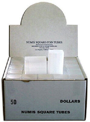 Numis Brand - Large Dollar, Square Coin Tube Storage (5 pack) on Rummage