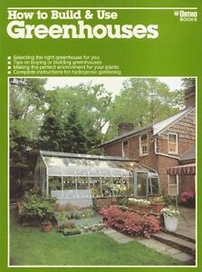 How To Build and Use Greenhouses-T. Jeff Williams-softcover book