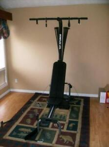 BowFleX XTL with Latpulldown  gym weights exercise